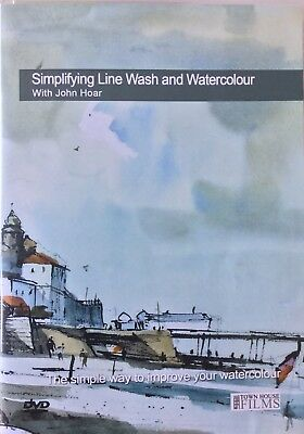 John Hoar Symplifying Line Wash and Watercolour Aquarell Schulung DVD