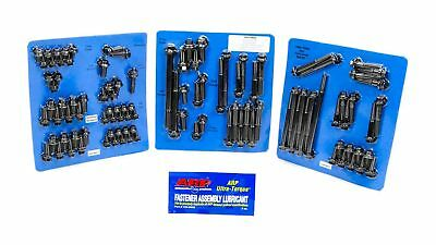 ARP Engine/Accessory Fastener Kit Hex Black Ford Cleveland/Modified P/N 554-9802