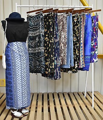 Job Lot 10 X Womens Patterned Wrap Skirts A Mix Of Styles And Fabrics (94)