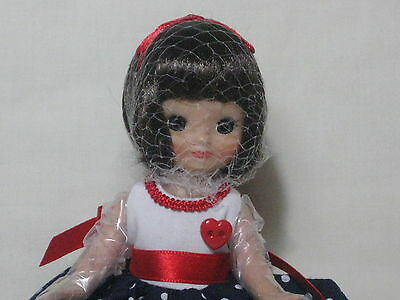Tonner Tiny Betsy McCall  Doll Pretty Little Holiday  w/ COA MIB LE FROM CU.