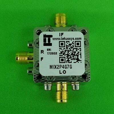 MIXER 2.4 GHz to 7 GHz RF and DC - 3 GHz IF (Passive)