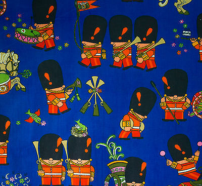 vintage 1960s Pop Parade Moygashel cotton fabric by Frieda Clowes