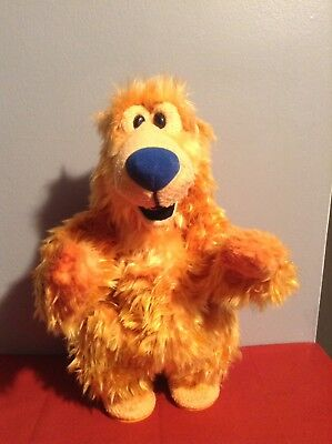 "13"" 1999 Mattel Bear in the Big Blue House Singing & Dancing Cha Cha Bear"