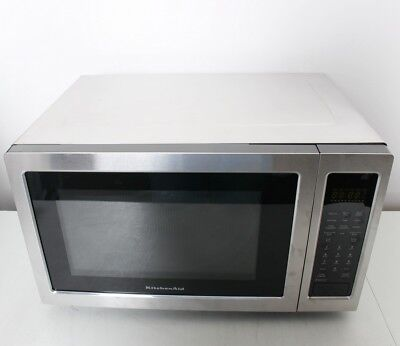 KitchenAid KCMC1575BSS 1200W Convection Microwave Grill 1.5 cuft Stainless Steel