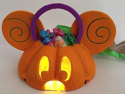 Disney Parks Mickey Mouse Halloween Light Up Ear Hat Usa 🇺🇸 Import