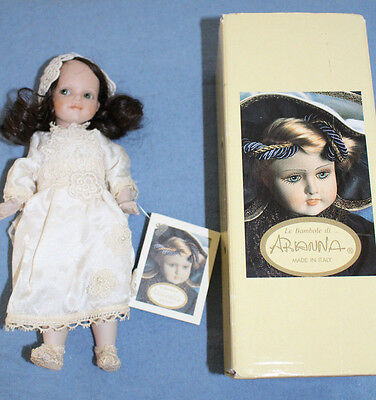 LA Bamboli de Arianna all bisque / porcelain made in Italy (Dalilah) w box + tag
