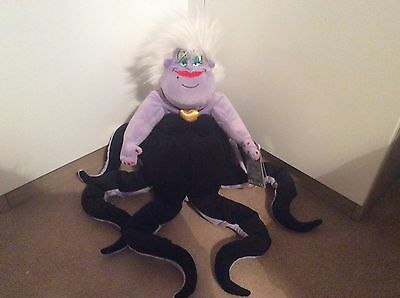 Disney Ursula Soft Plush Toy, The Little Mermaid, Brand New With Tags