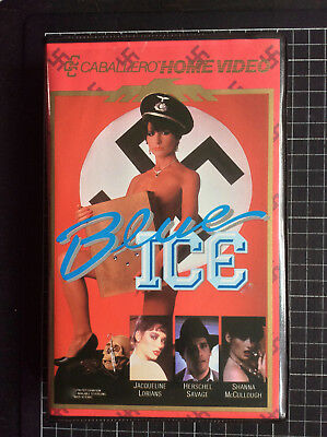 BLUE ICE rare Caballero BETA not VHS 80s grindhouse exploitation uncut