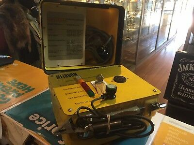 Metrohm Appliance Tester Model 4 In Yellow Case / Untested !