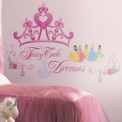 RoomMates Disney Princess Crown Wall Stickers