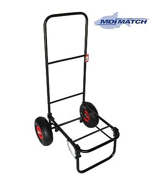 MDI Match Standard Pneumatic Collapsible Fishing Trolley
