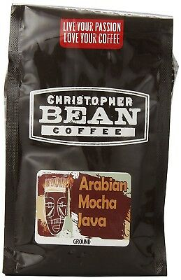 Christopher Bean Coffee Ground Coffee, Mocha Java Blend, 350ml. Shipping is Free
