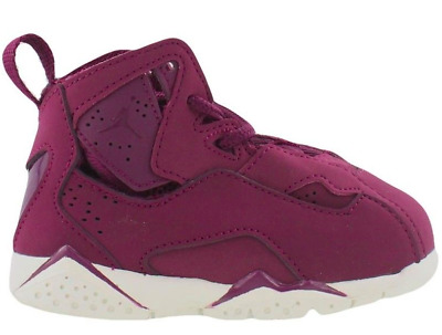 fb441955d9a Air Jordan True Flight Toddler Td 343797-625 Burgundy Retro Boys Girls Xii  Xi Og