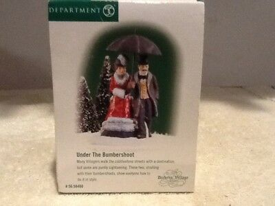 Dept 56 Dickens Village - Under the Bumbershoot - #58460 - Mint