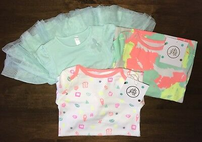 NWT Infant Sleeper Robes Dress 6-9 Months Oh Joy Cherokee 3 PC Lot
