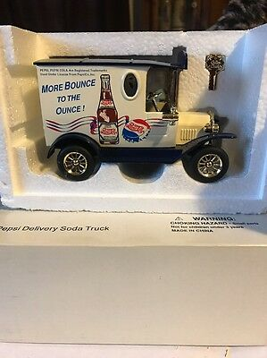 Vintage Pepsi Cola Die Cast Delivery Truck Bank - FREE SHIPPING!!!