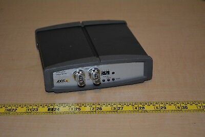 Axis 241S Video Server P/N: 0186-001-03 Composite Video IP Camera Network