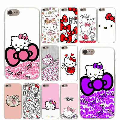 Hello Kitty Handyhülle Hard Case Appel Iphone Print Design Cover #0006