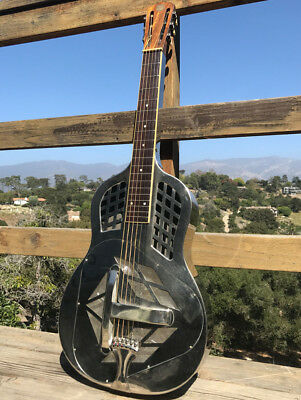 1928 National Tricone Style 1 Square Neck  Vintage Resonator Guitar SUPER!