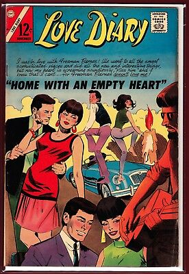 """Love Diary # 46_(1966)_""""home With An Empty Heart""""_Silver Age Romance."""