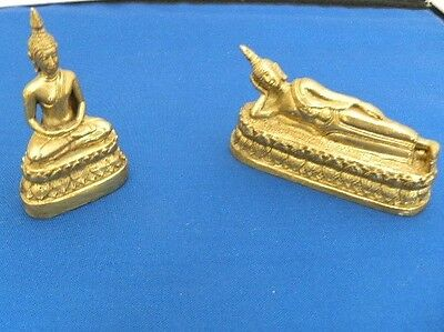 Ancient India  Oriental Asian Brass Figurines
