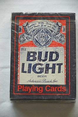 Vintage Advertising Deck of Poker Playing Cards for BUDWEISER King of Beers