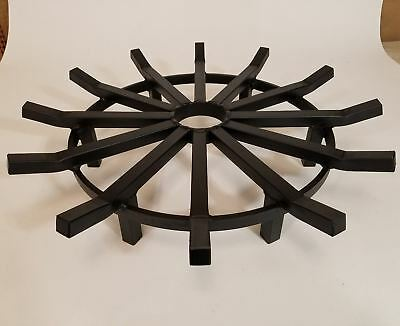 EXTREME Duty 28 Inch Round Fireplace Grate for Fire Pits - Made in USA