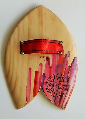Owen Surfcraft-Handmade Wooden Bodysurfing Handplane-The Dart.