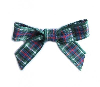(MacKenzie) - MacKenzie Tartan Bows. Pack of 20 in 10mm ribbon. Available in