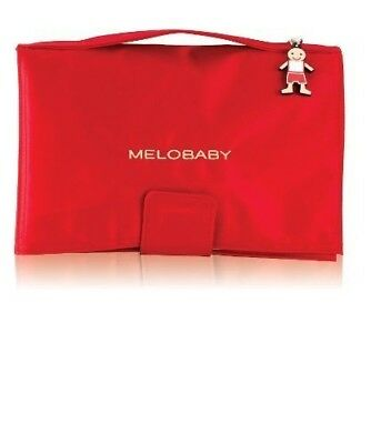 MELOBABY All-In-One Nappy Wallet and Change Mat (Red and Caramel) by MELOBABY