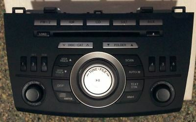 2011-2013 Mazda 3 AM FM Radio mp3 Single Disc CD Player Part Number BX BBM5