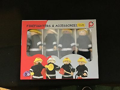 PinToy Firefighters & Accessories