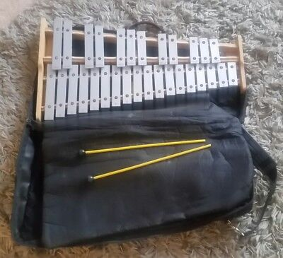 Pearl # 03056 Xylophone 30 Key ~ Stand ~ Sheet Music Holder ~ Bag ~ Student Kit