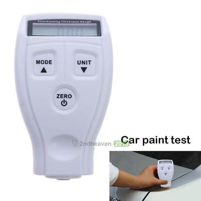 GM200 Galvanize Painting Coat Film Measure Tester Thickness Gauge Tooling White
