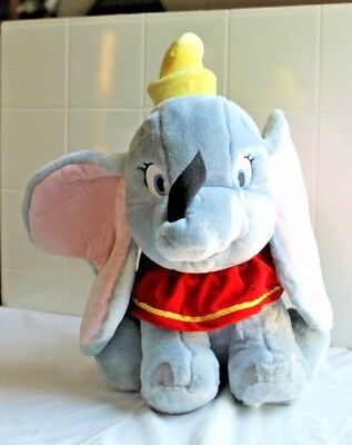 "Disney store exclusive stamped foot  plush Dumbo  13"" NWT"