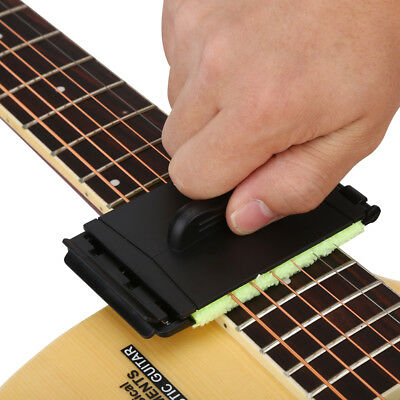 Guitar Bass Strings Scrubber Fretboard Cleaner Instrument Guitar Cleaning Tool