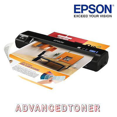 Epson Workforce DS-40  ( B11B225501 ) Wi-Fi Mobile Document Scanner