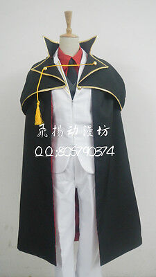 When They Cry Umineko no Naku Koro ni Battler Ushiromiya Cosplay Costume F008