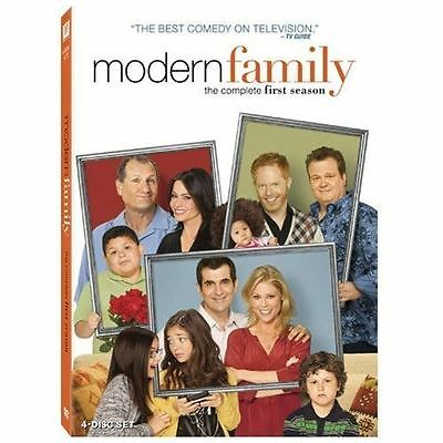 Modern Family: The Complete First Season (DVD, 2010, 4-Disc Set) *SEALED*