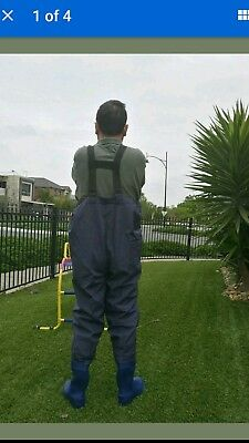 QUALITY NYLON FISHING CHEST WADERS size(39-47) $45 freeshipping