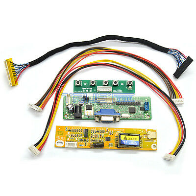 VGA LCD Controller Board Kit Work For 15.4inch LP154WX4 1280X800 Laptop Screen