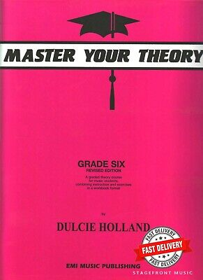 Master Your Theory Grade 6 / Six - Revised Edition *BRAND NEW*