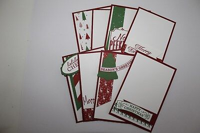 Handmade Christmas Tags - set of 8 (f)