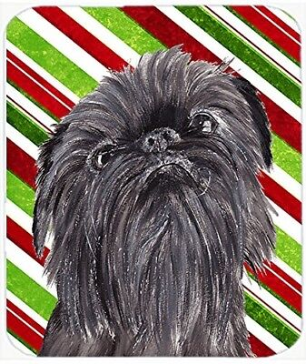 (Candy Cane) - Caroline's Treasures SC9615LCB Brussels Griffon Candy Cane