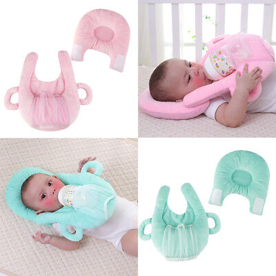 Newborn Baby Sleep Pillow Nursing Prevent Flat Head Plush Toy Cushion Doll Pad