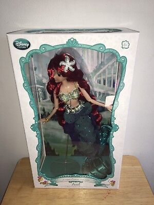 "Disney Limited Edition Ariel 17"" Doll"