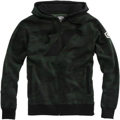 100% Brigade Zip Up Hoody