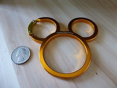 Mickey Mouse Carabiner *Keychain Charm* metal Japan Import Disney