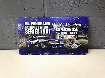 Musclecar Bathurst Winner XD Falcon 1981 HD Metal Tin Sign
