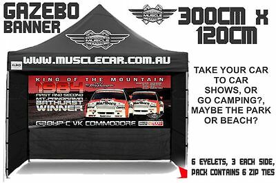 Musclecar Bathurst Winner 1984 Big Banger Gazebo banner / flag